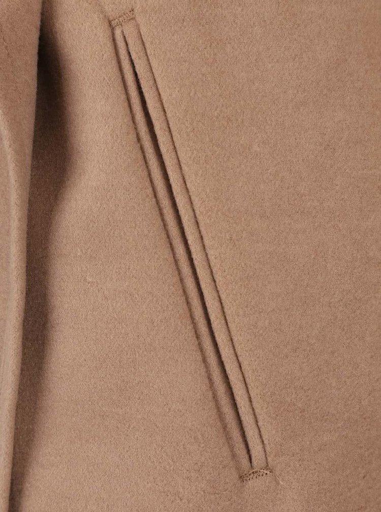 26f368cea8 Svetlohnedý kabát ONLY New Phoebe | ZOOT.sk