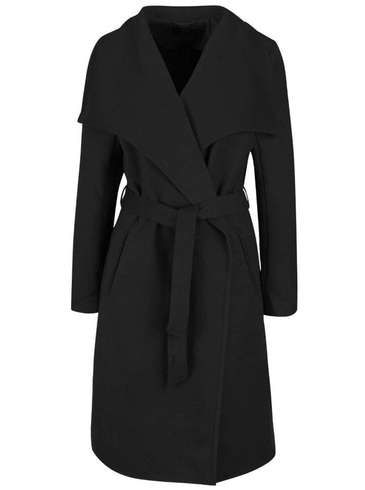 Čierny kabát ONLY New Phoebe