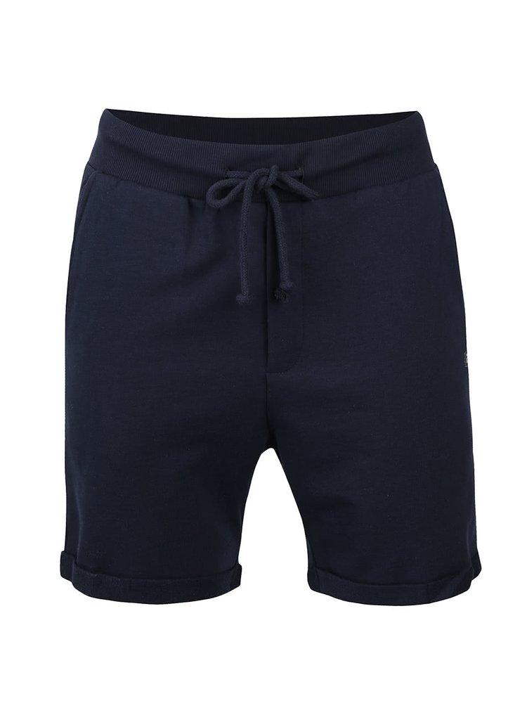 Pantaloni scurti bleumarin din bumbac - Jack & Jones Boost