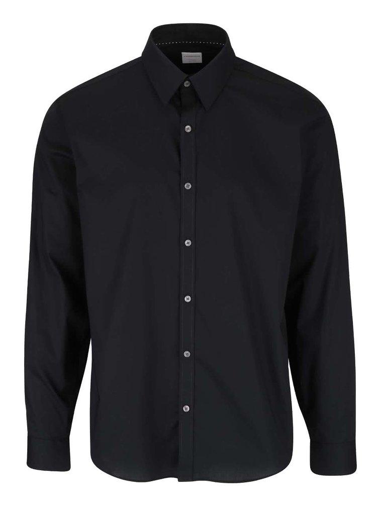 Čierna formálna košeľa Lindbergh
