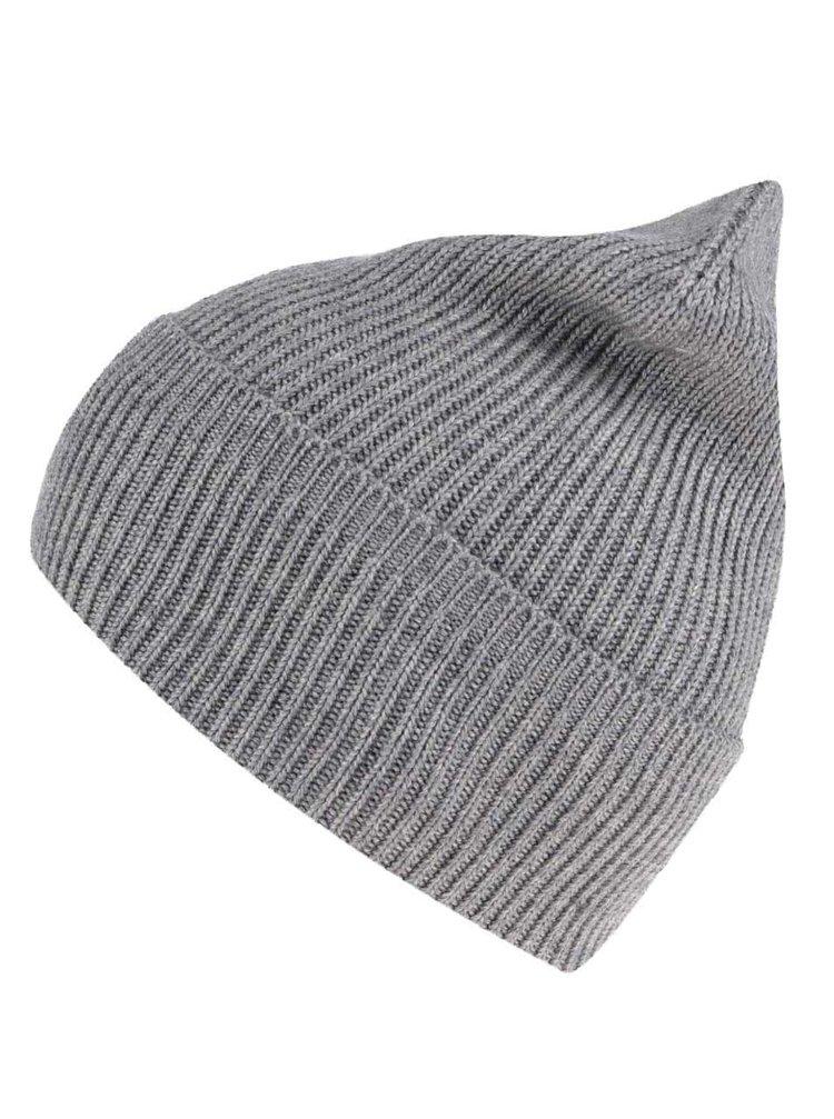 Sivá zimná čiapka Shine Original