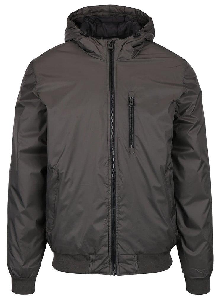 Khaki bunda s kapucí Shine Original