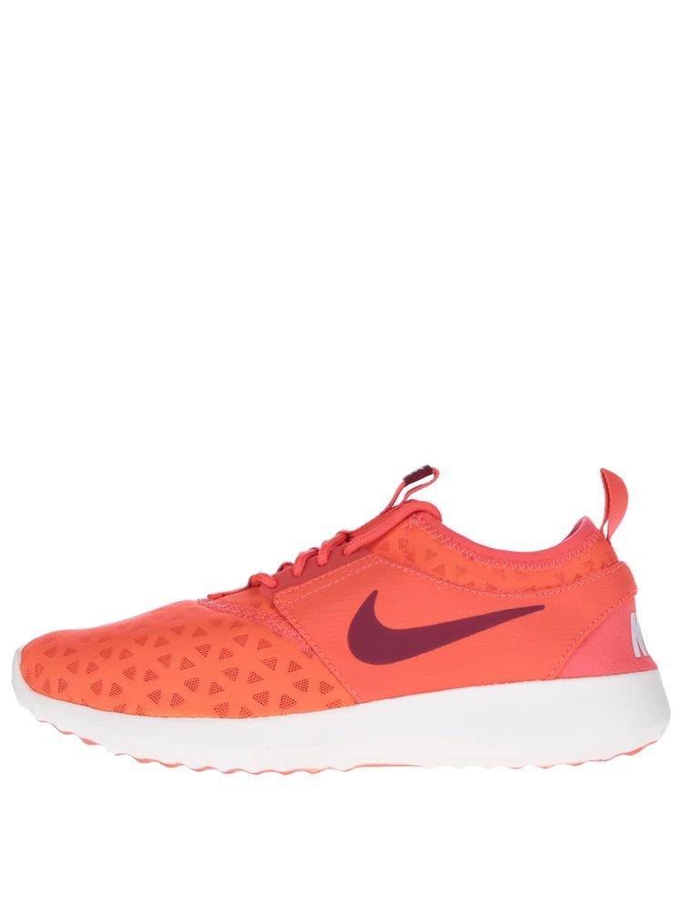 Neonově oranžové dámské tenisky Nike Juvenate