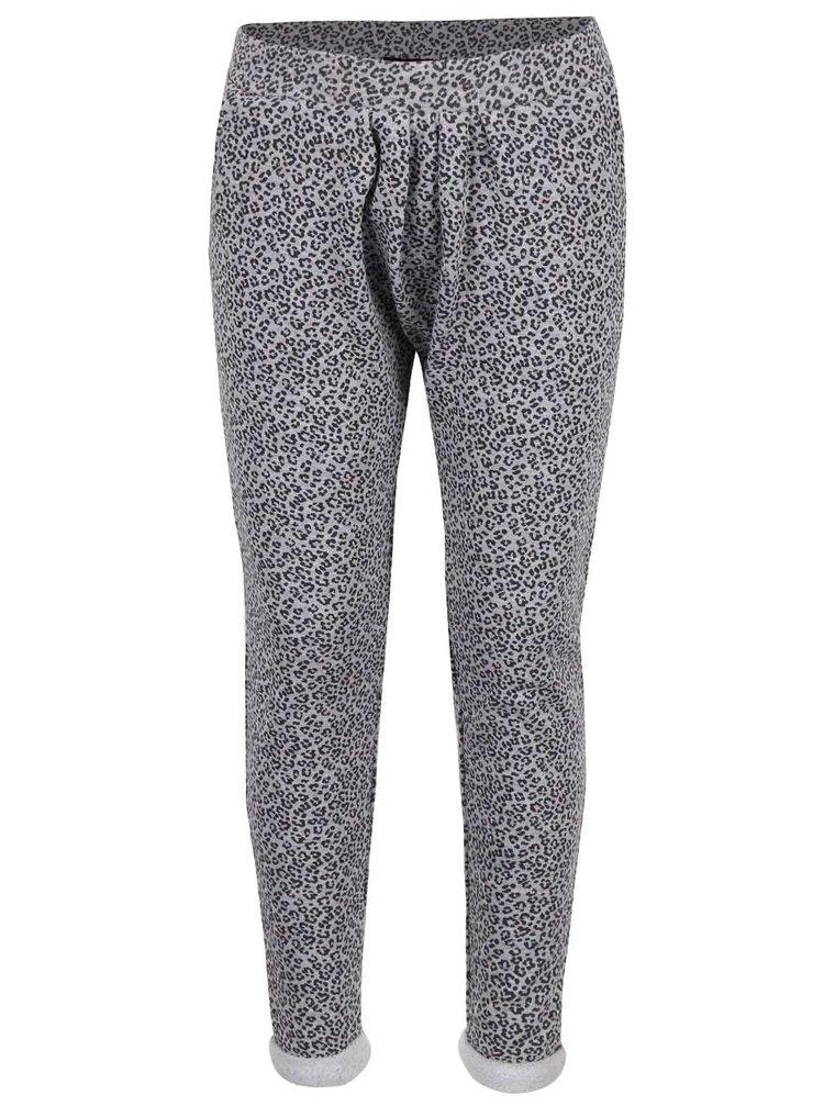 Pantaloni gri Blue Seven cu model discret pentru fete