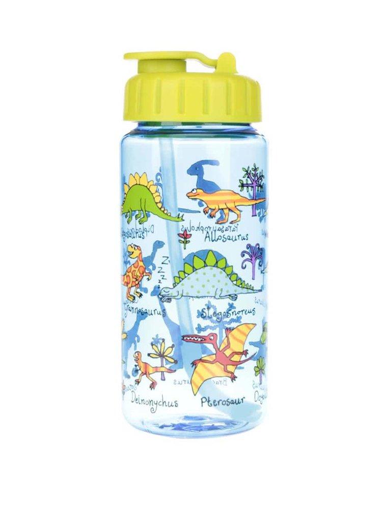 Modrá chlapčenská fľaša na pitie Tyrrell Katz Dinosaurus