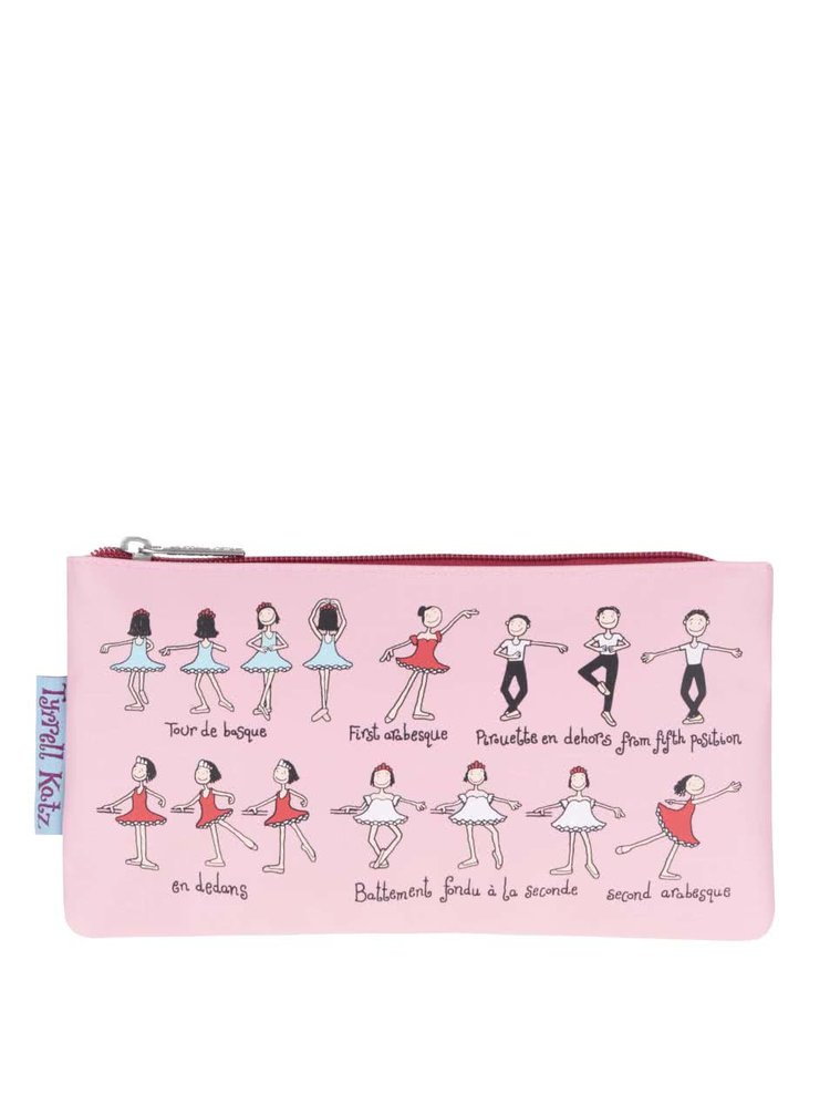 Penar roz Tyrrell Katz Ballet cu model pentru fete