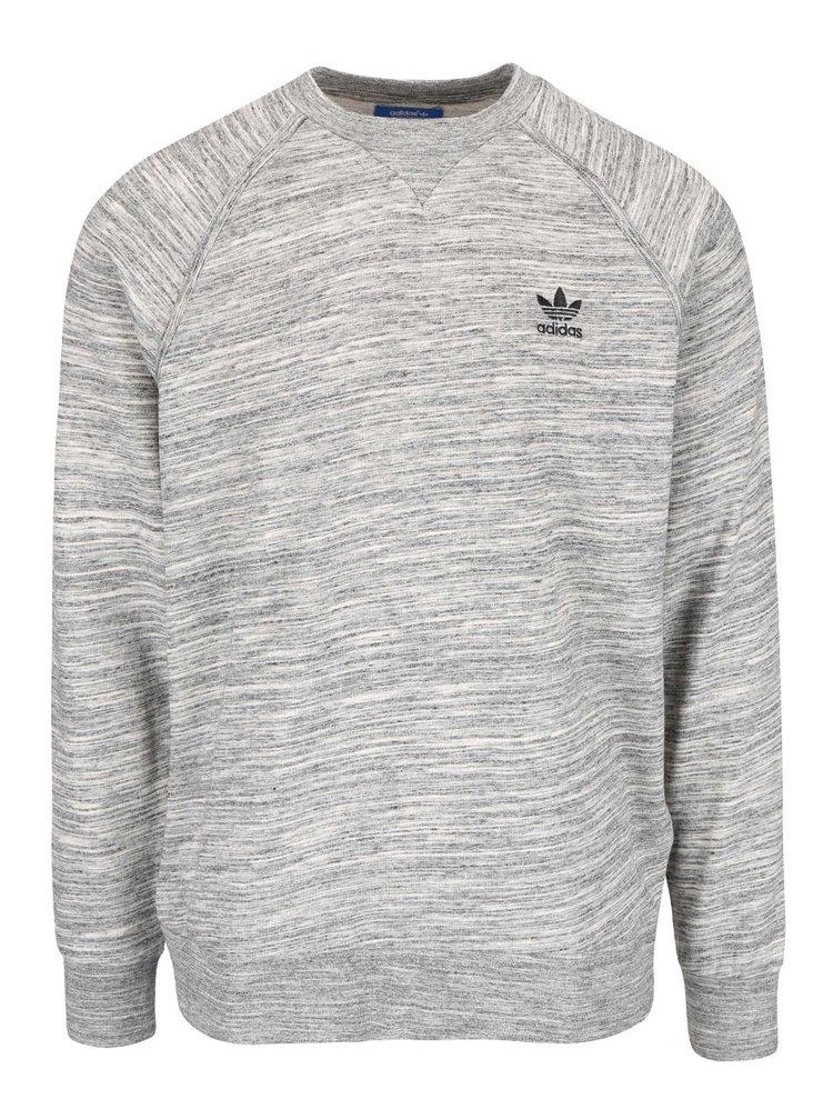 Bluză sport gri melanj adidas Originals