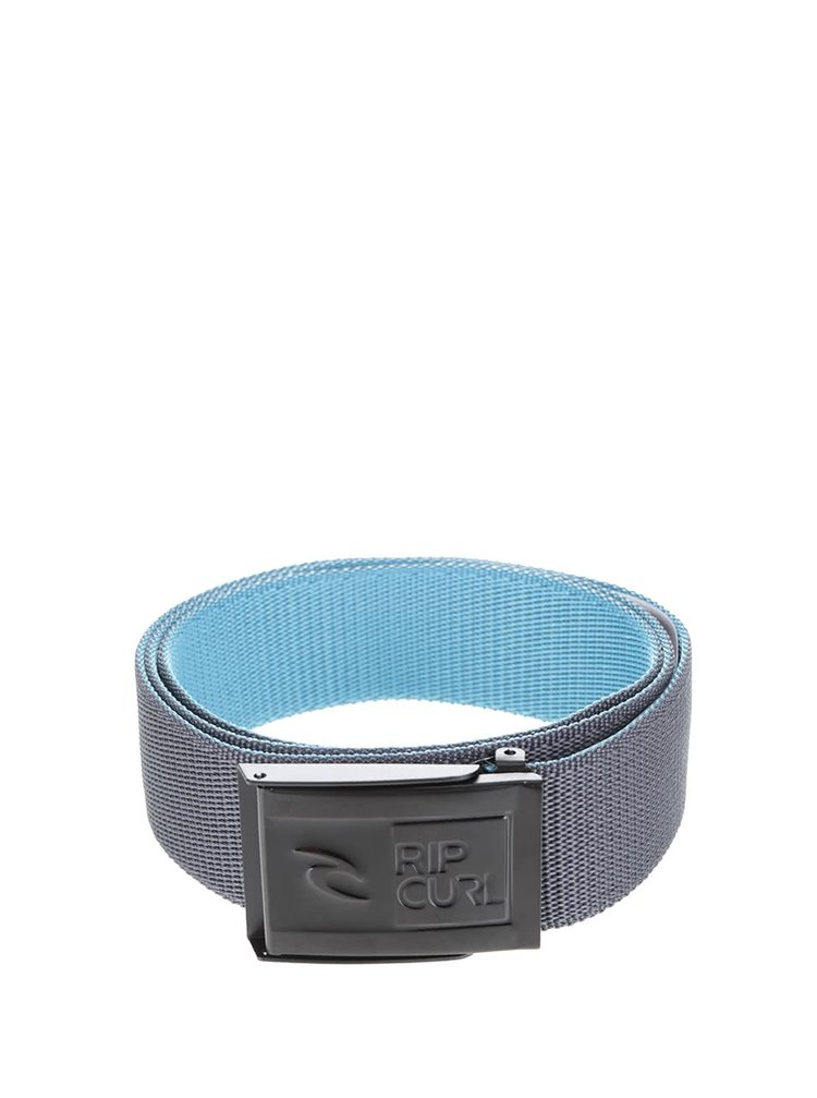 Sivý pánsky opasok Rip Curl Ripper Revo Webbed Belt