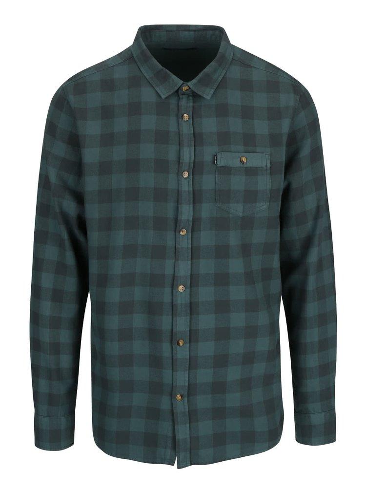 Zelená pánská kostkovaná košile  Rip Curl Check IT LS