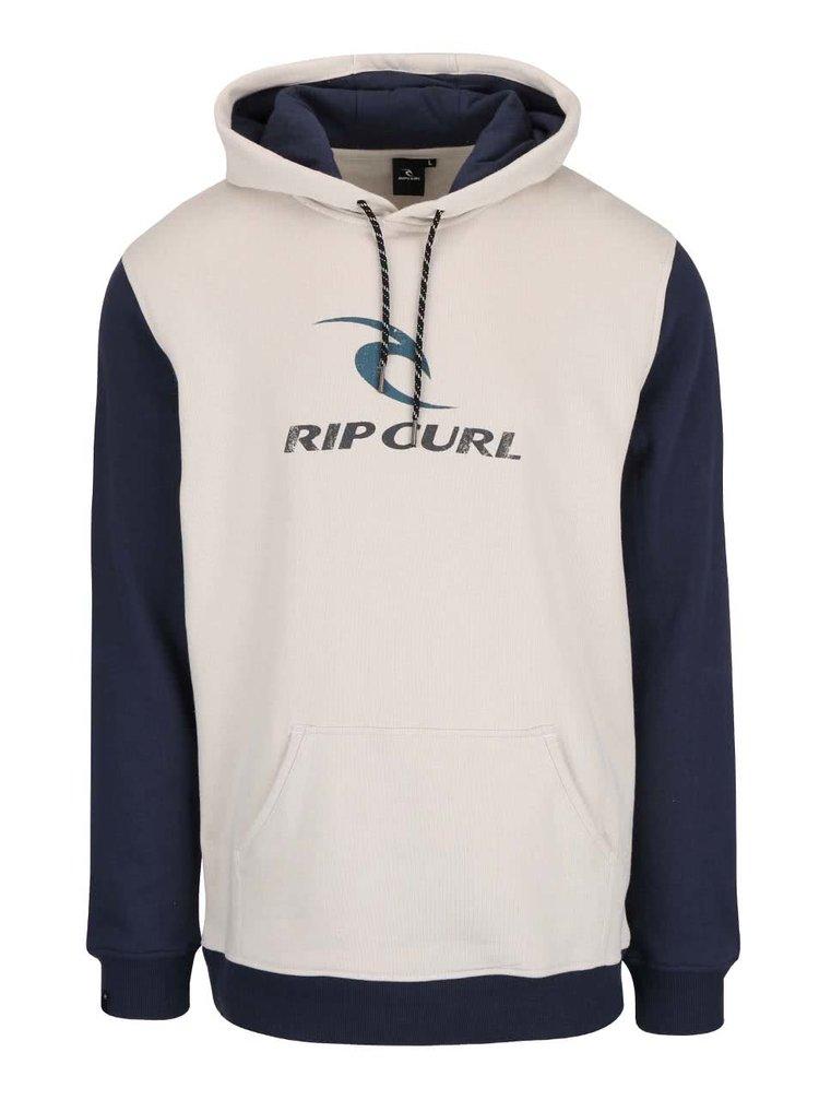 Modro-béžová pánska mikina s kapucňou Rip Curl Corps
