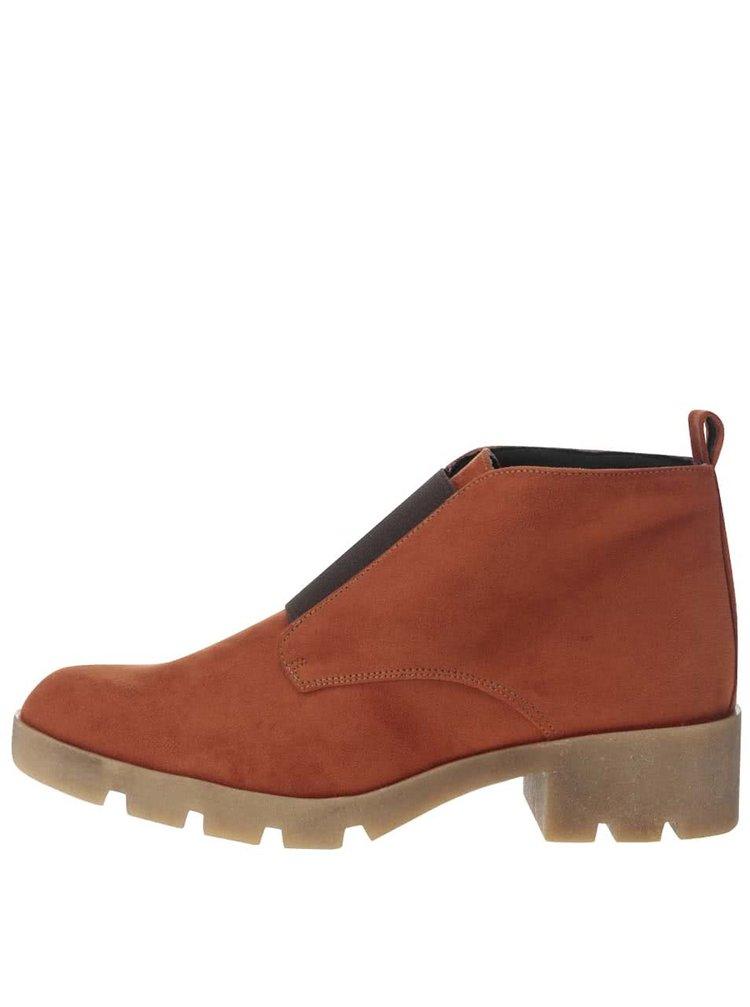 Tehlové členkové topánky OJJU