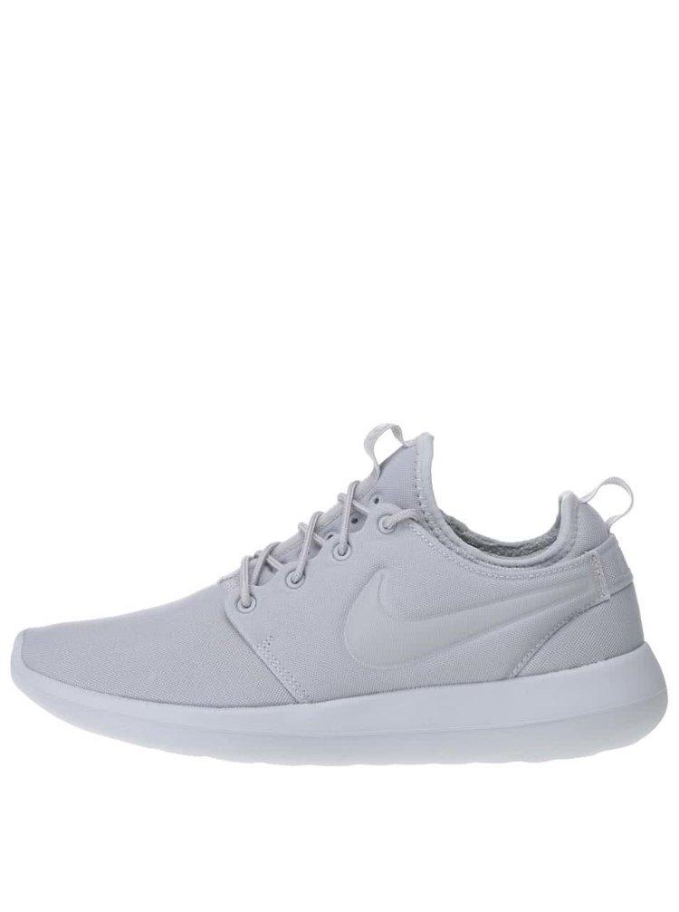 Světle šedé pánské tenisky Nike Roshe Two