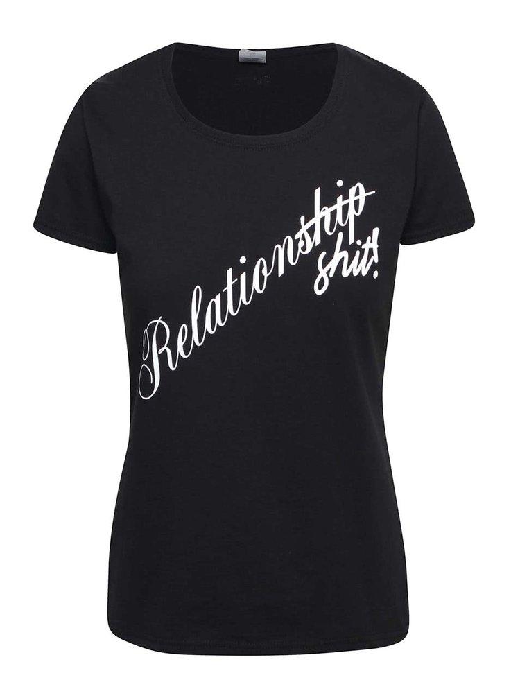 Černé dámské tričko ZOOT Originál Relationship