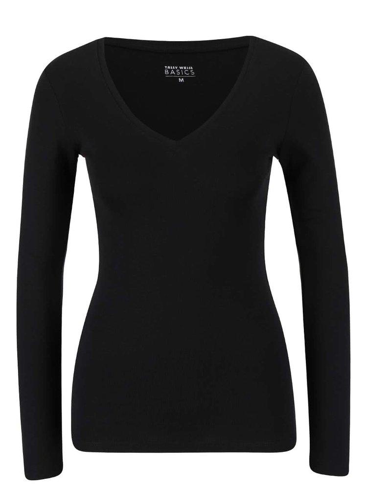 Bluza basic neagra TALLY WeiJL