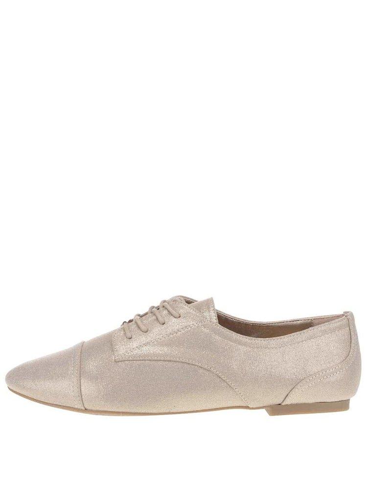 Pantofi aurii ALDO Corallo pentru femei