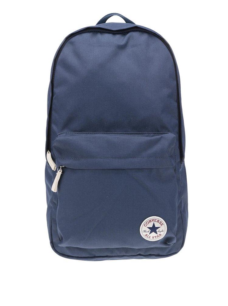 Tmavomodrý batoh s logom Converse Core Poly