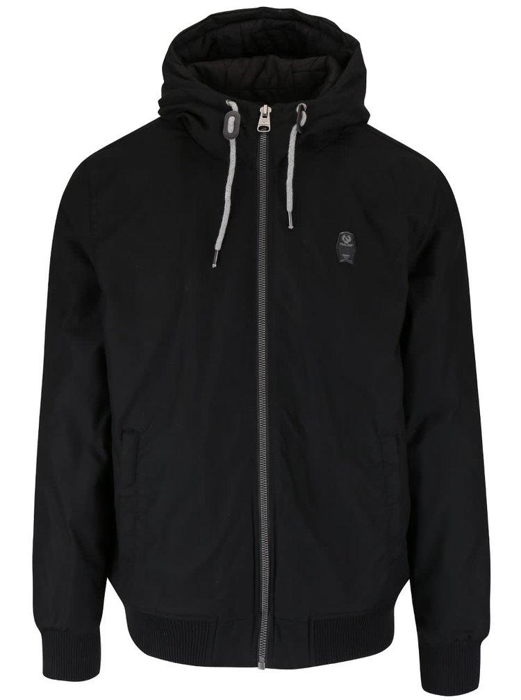 Čierna pánska bunda Ragwear Percy
