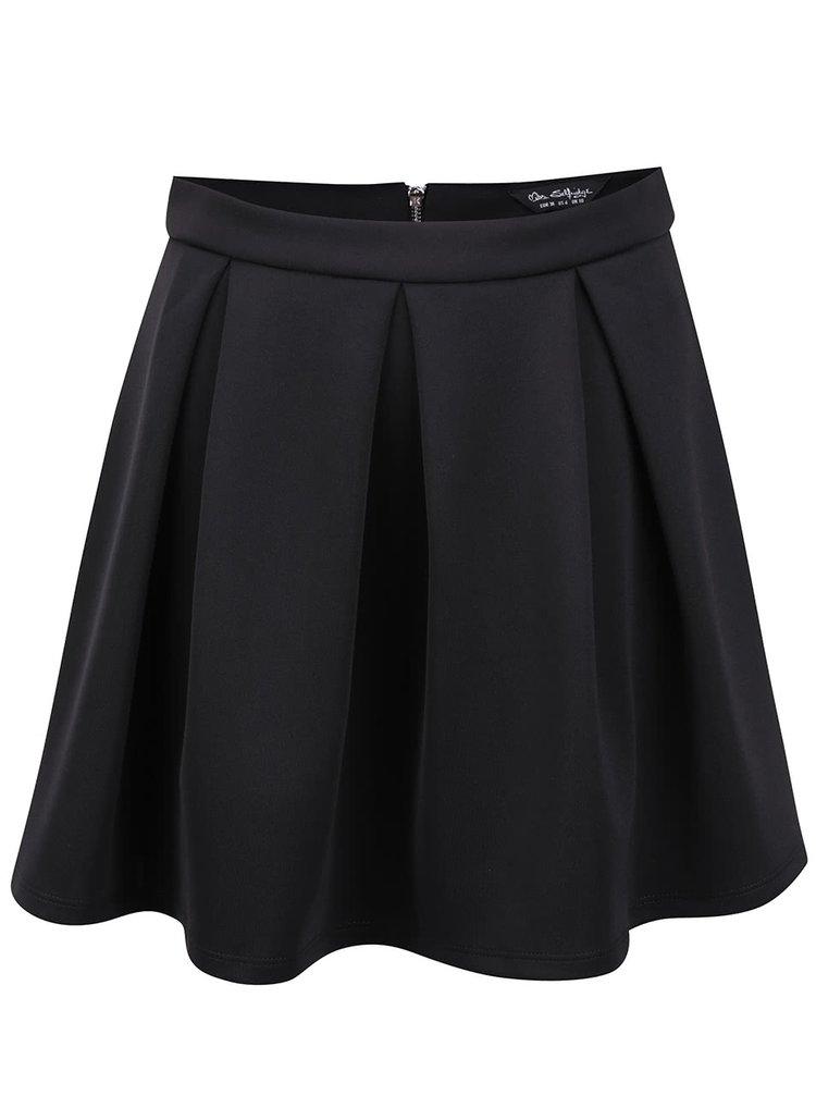 Černá sukně do pasu Miss Selfridge