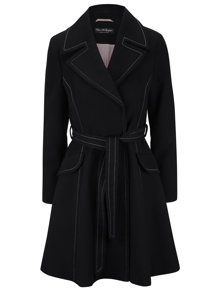 Palton negru Miss Selfridge