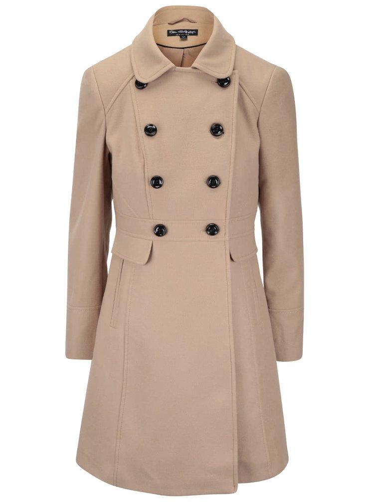 Hnědý kabát Miss Selfridge