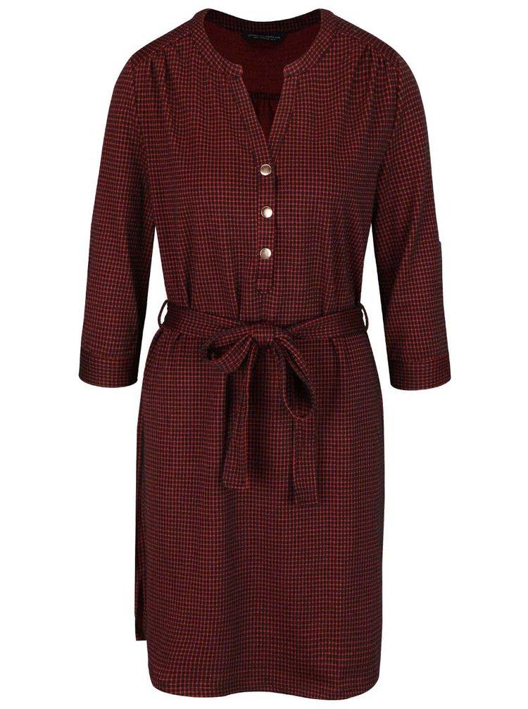Rochie tip cămașă Dorothy Perkins roșie cu model