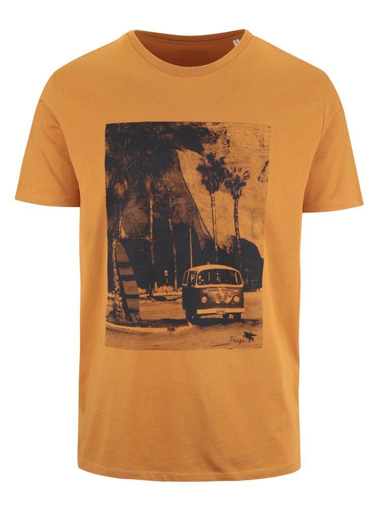 Oranžové pánské triko ZOOT Originál Travel Traga