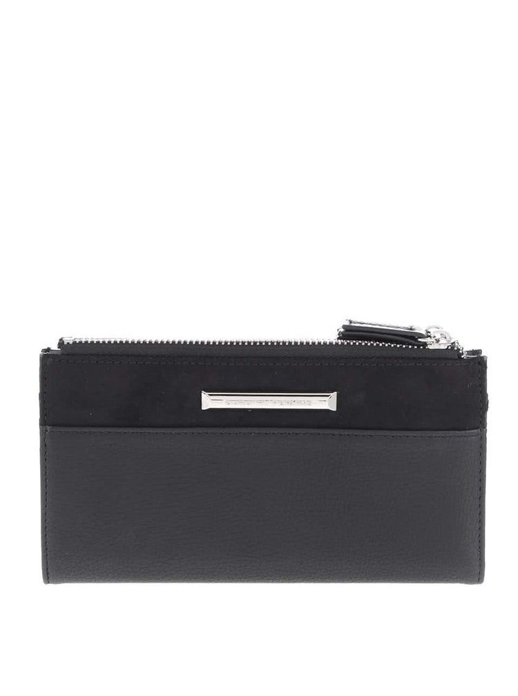 Čierna koženková peňaženka Dorothy Perkins