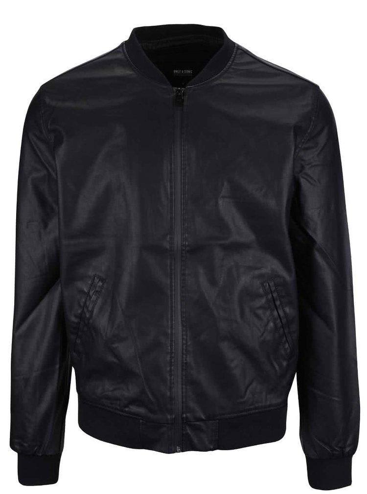 Jachetă bomber ONLY & SONS Jerrod neagră