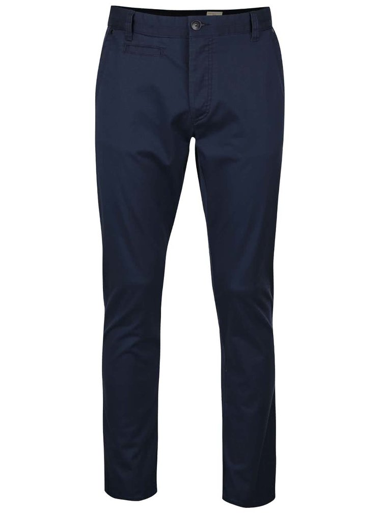 Tmavě modré chino kalhoty Selected Homme Two Store