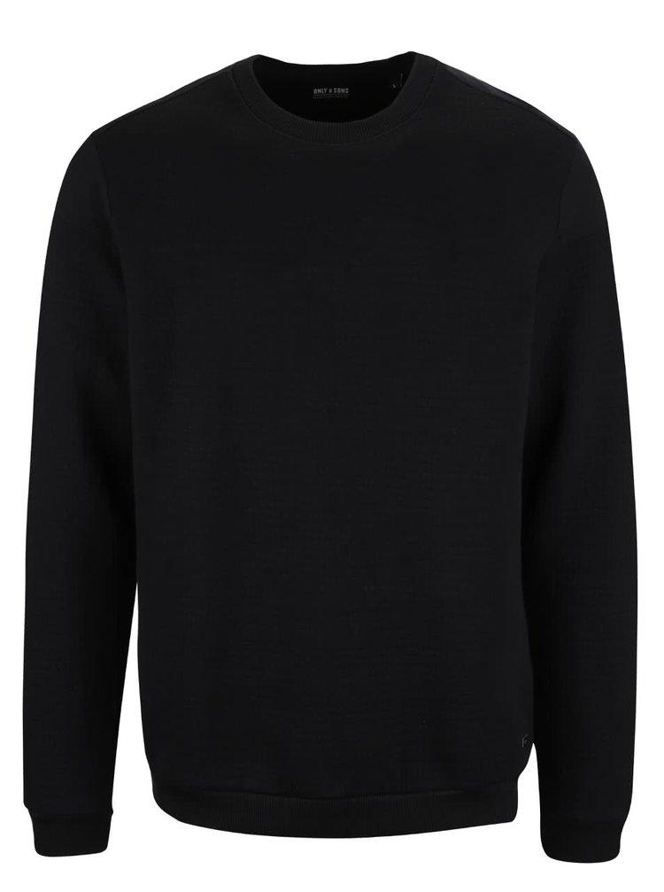 Bluză neagră ONLY & SONS Berg