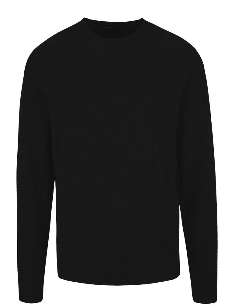 Pulover negru Selected Homme Busk