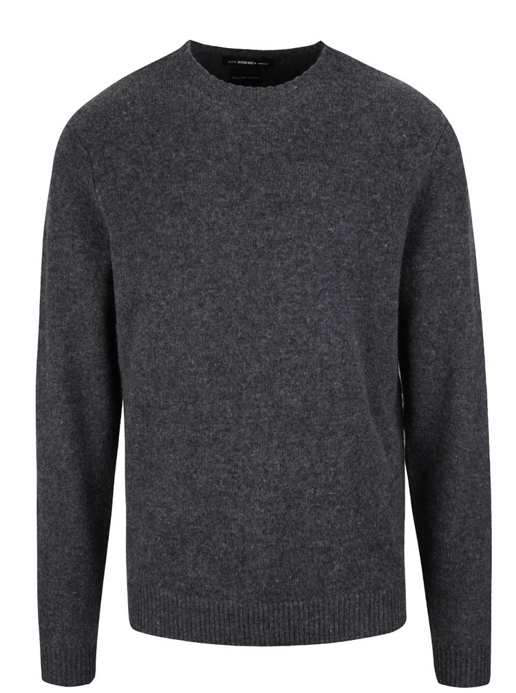 Pulover gri Selected Homme Busk