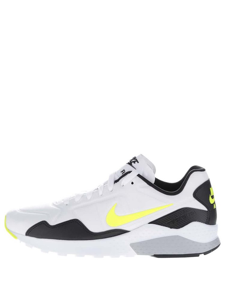 Pantofi sport negri & albi Nike Zoom Pegasus cu detalii galbene pentru bărbați