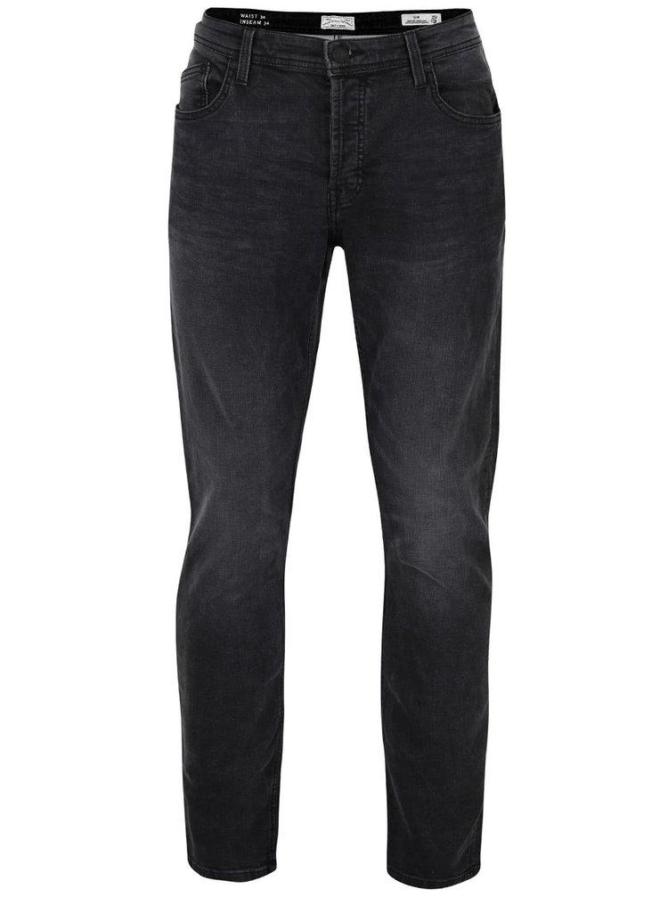 Šedé džíny s vyšisovaným efektem ONLY & SONS Loom Jog