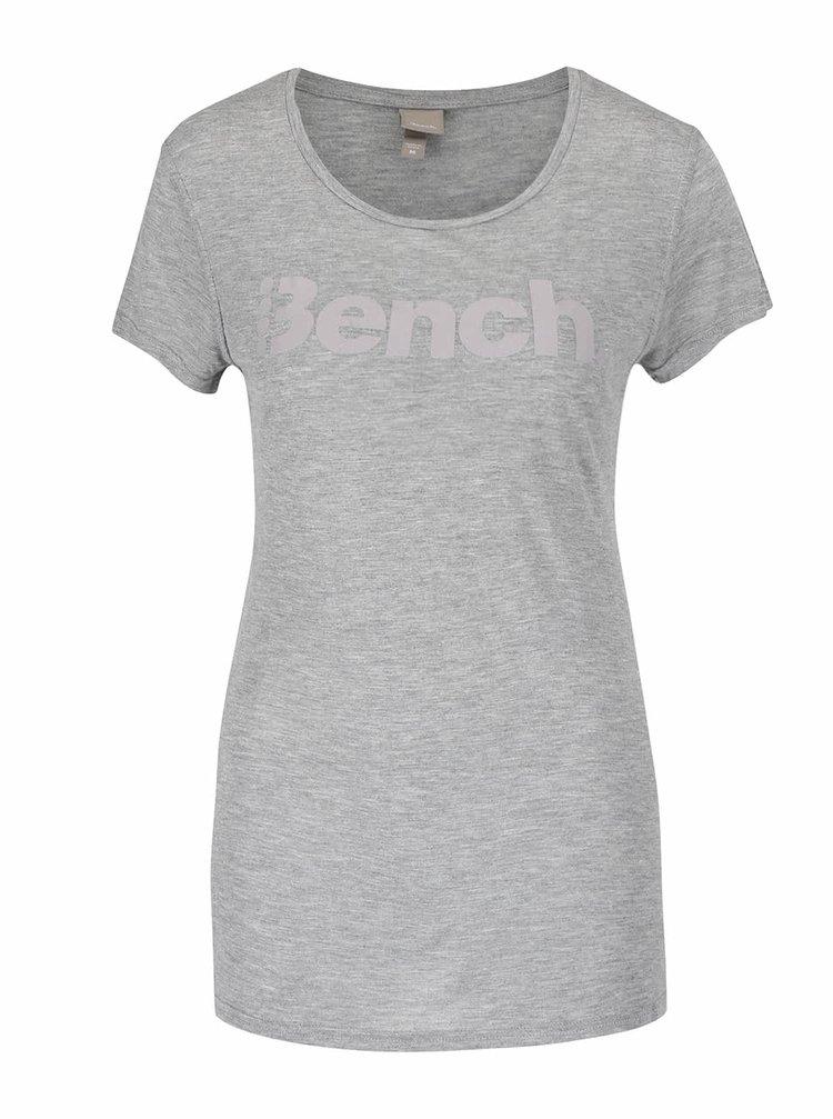 Tricou gri Bench Expate cu print pentru femei