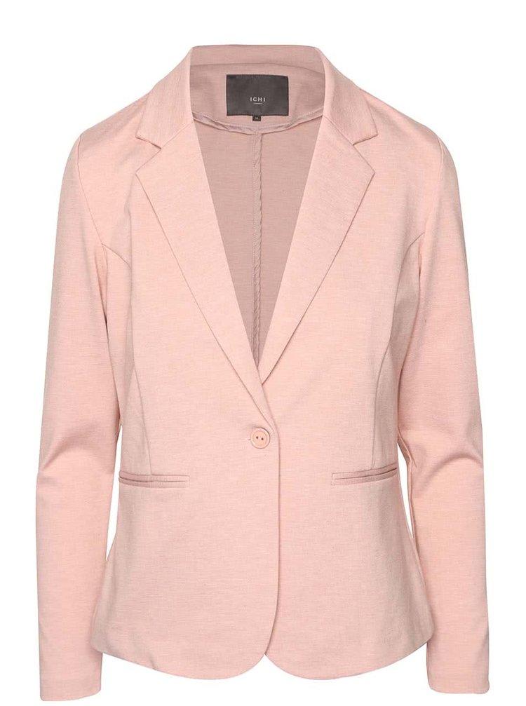 Světle růžové sako ICHI Kate