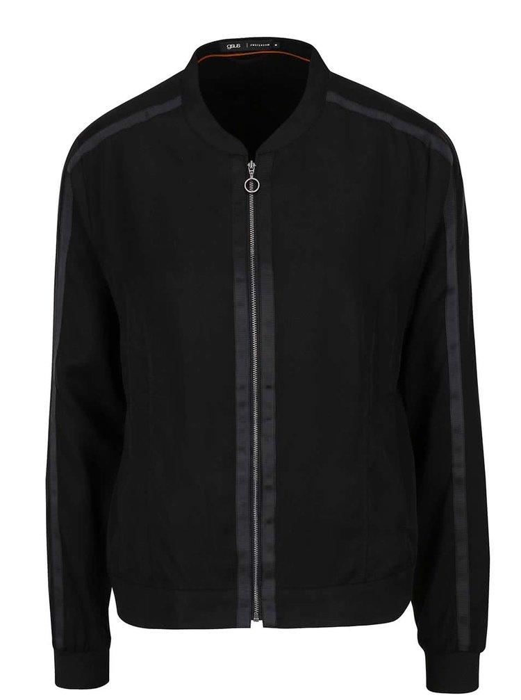Jachetă bomber neagră gsus