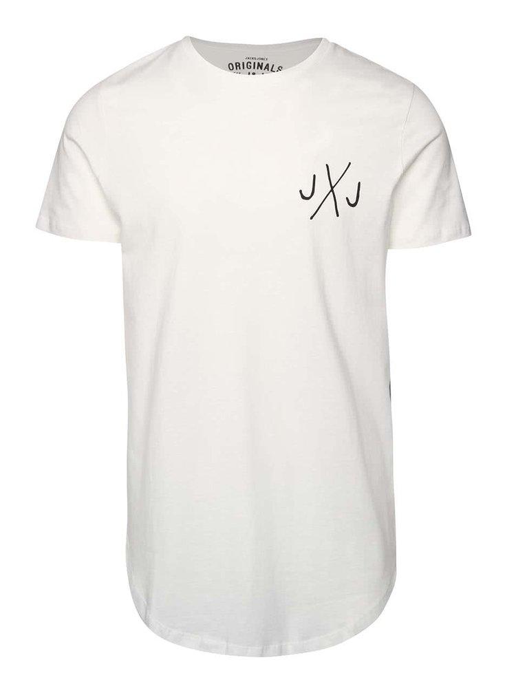 Krémové triko s logem Jack & Jones Break