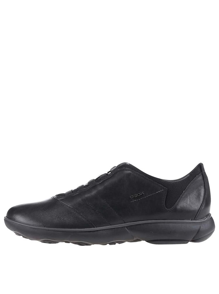 Pantofi sport Geox Nebula negri din piele
