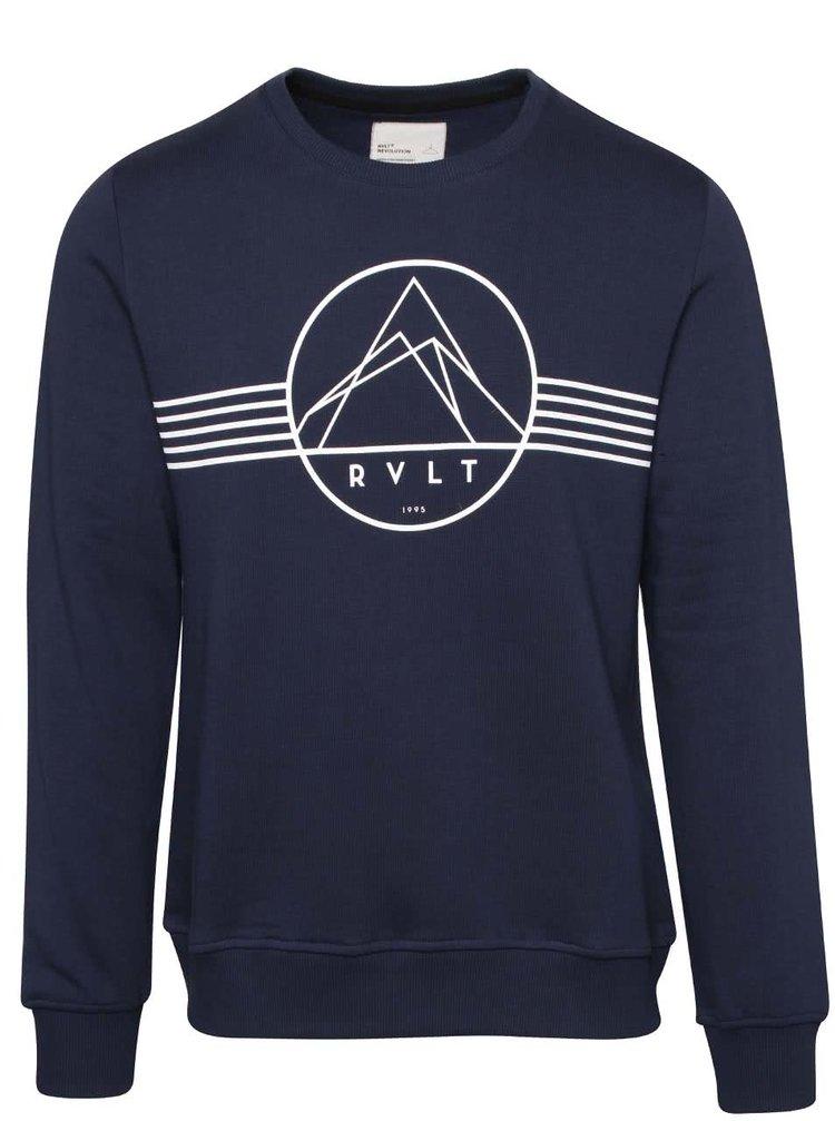 Bluză albastră RVLT cu print