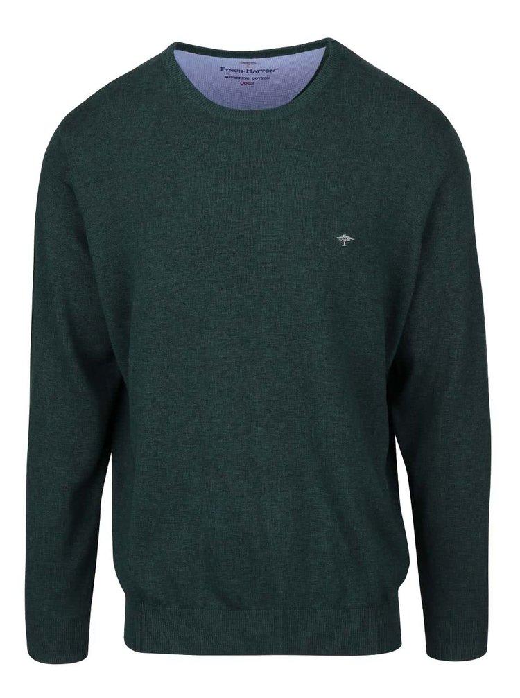 Tmavé zelený svetr Fynch-Hatton