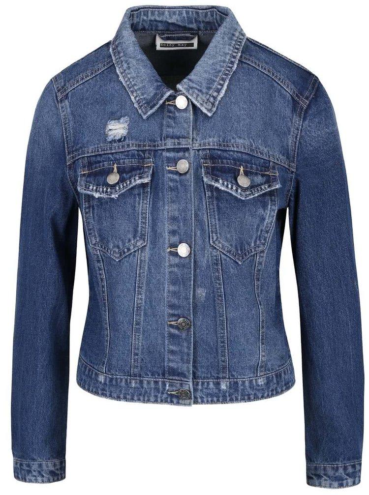 Modrá džínová bunda Noisy May Dizzy