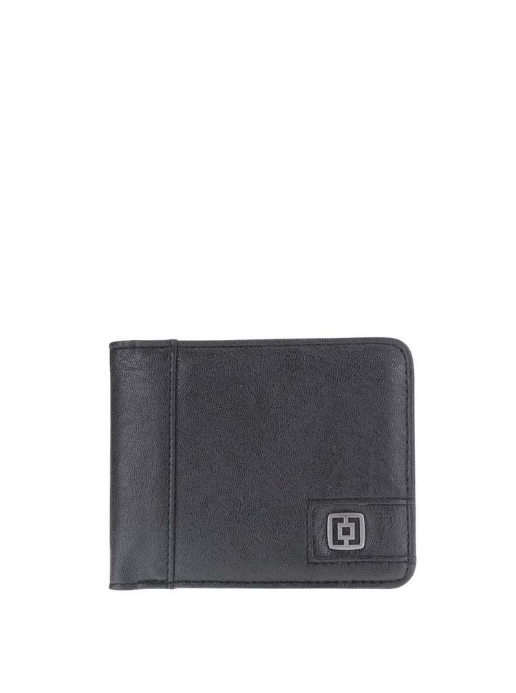 Černá pánská peněženka Horsefeathers Owen