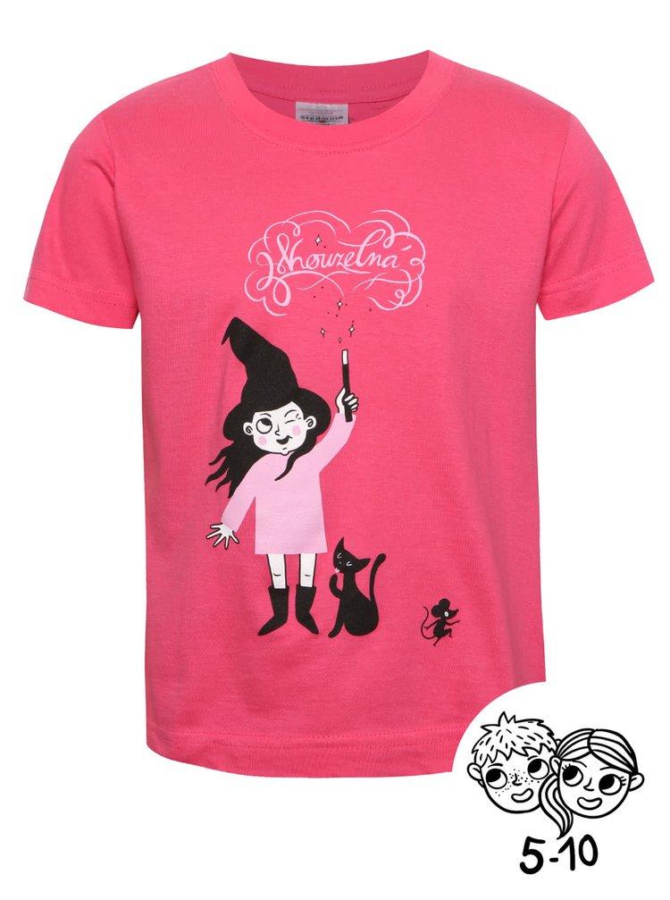 Tricou roz ZOOT Kids cu print