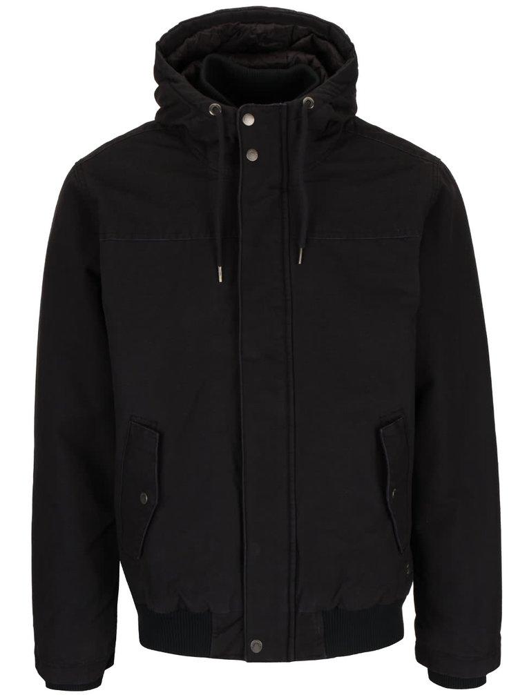 Jachetă neagră Quiksilver Everydaybrooks