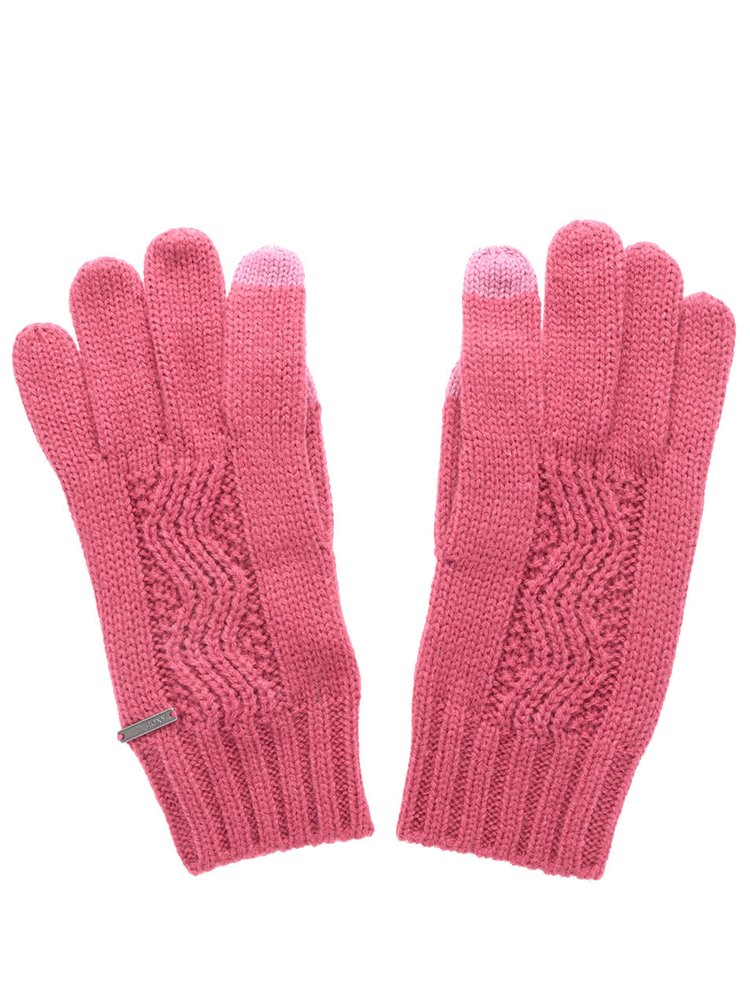 Ružové rukavice Roxy Stay