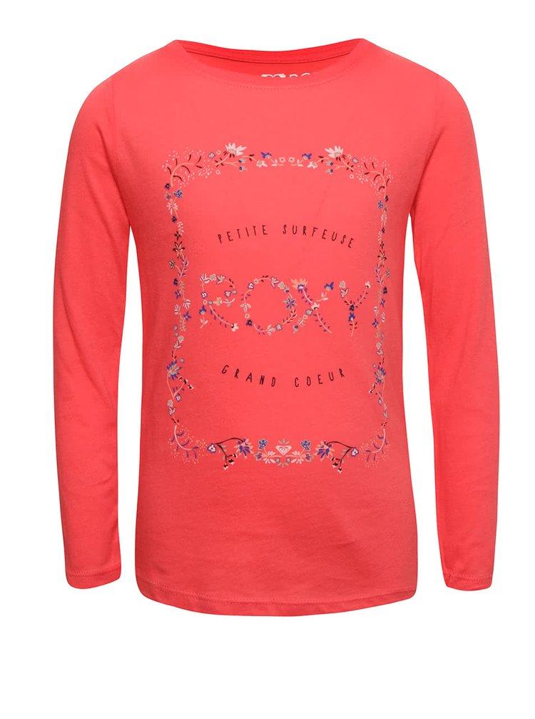 Bluză roz Roxy pentru fete