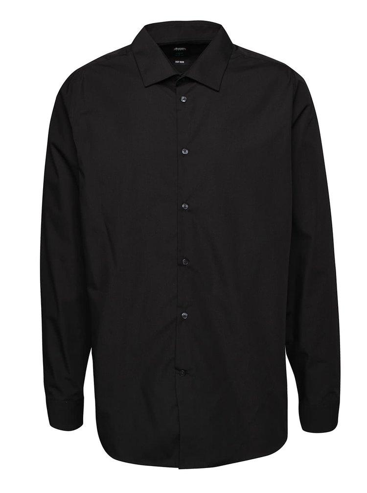 Cămașă neagră Burton Menswear London slim fit