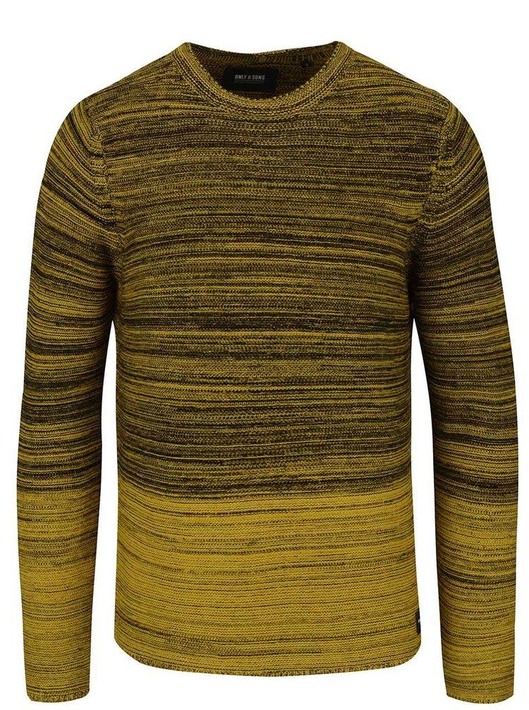 Bluză galbenă & negru ONLY & SONS Diesel