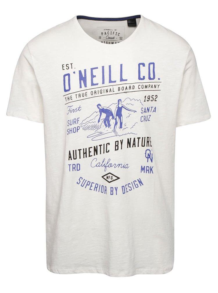 Krémové pánské triko s potiskem O'Neill Trip